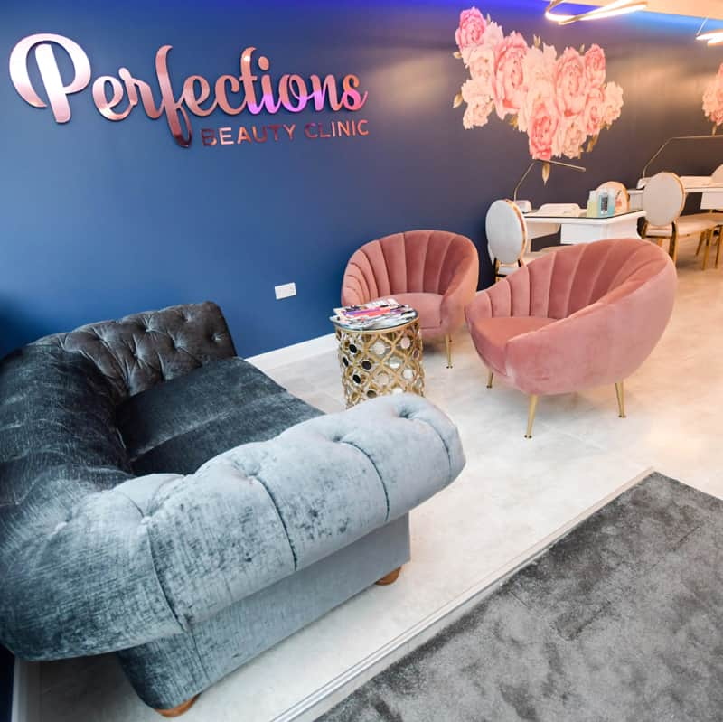 perfections-beauty-clinic-larne-reception-area